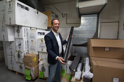 イタリア視察:老舗の音響メーカーを訪れました。