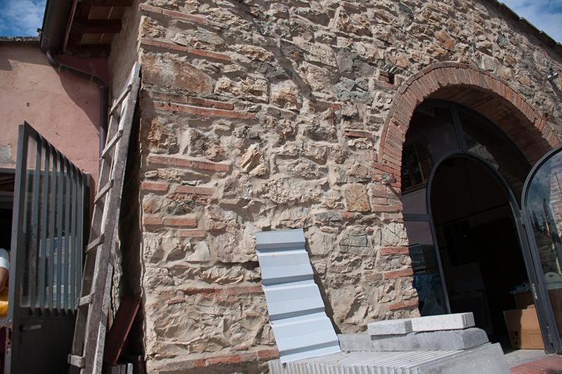 イタリアらしい外壁