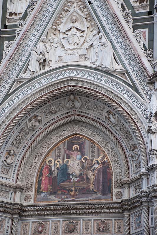 サンタマリアデルフィオーレの壁画