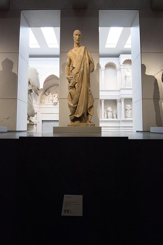 ドナテッロ作の銅像